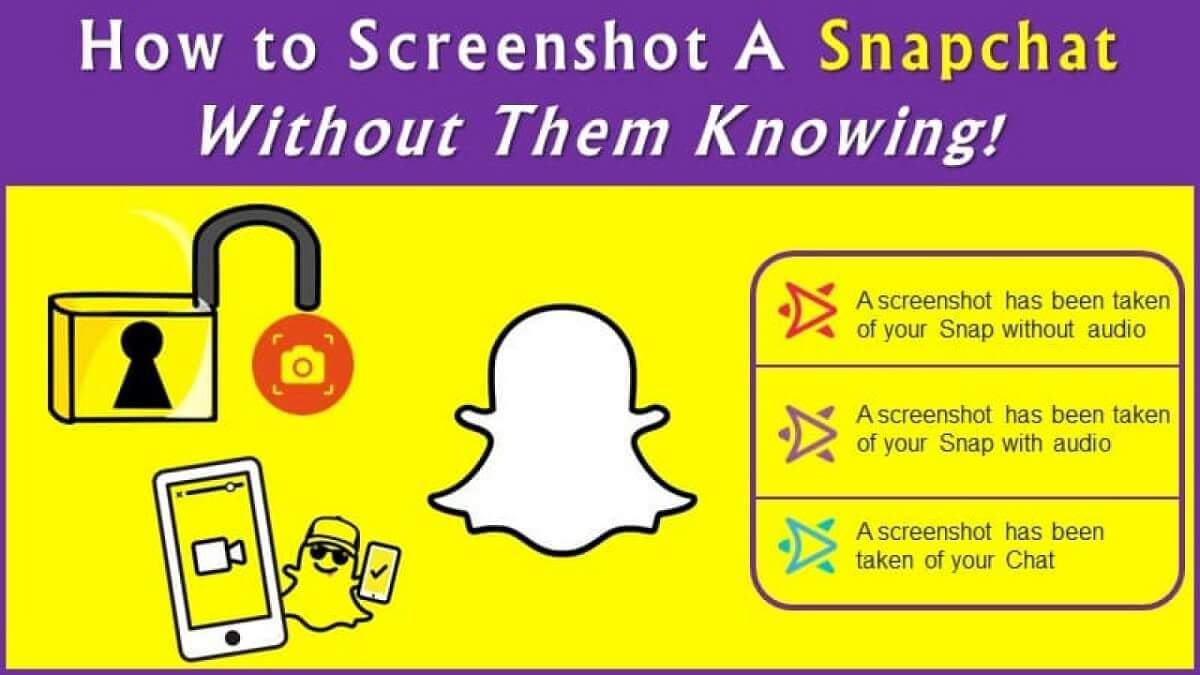 screenshot on snapchat without them knowing