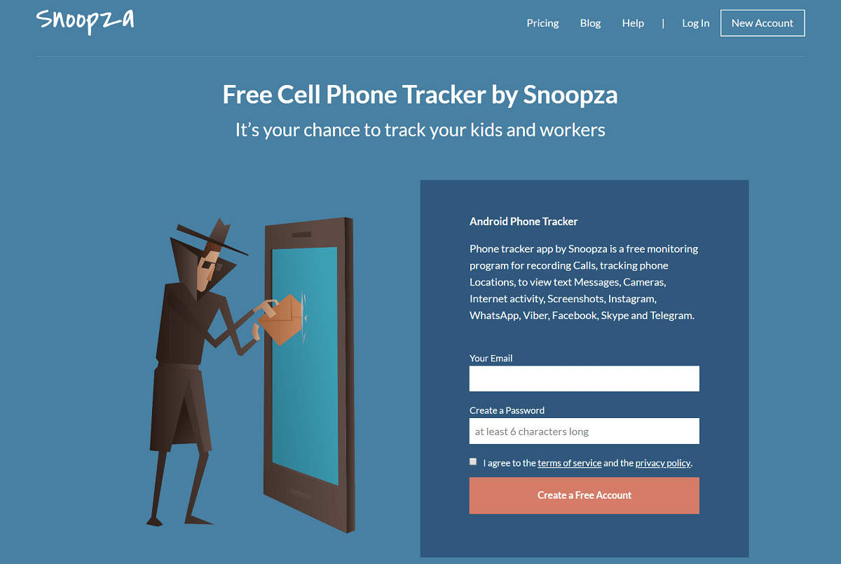 Snoopza Review: Free Cell Phone Tracker to Track Your Kids