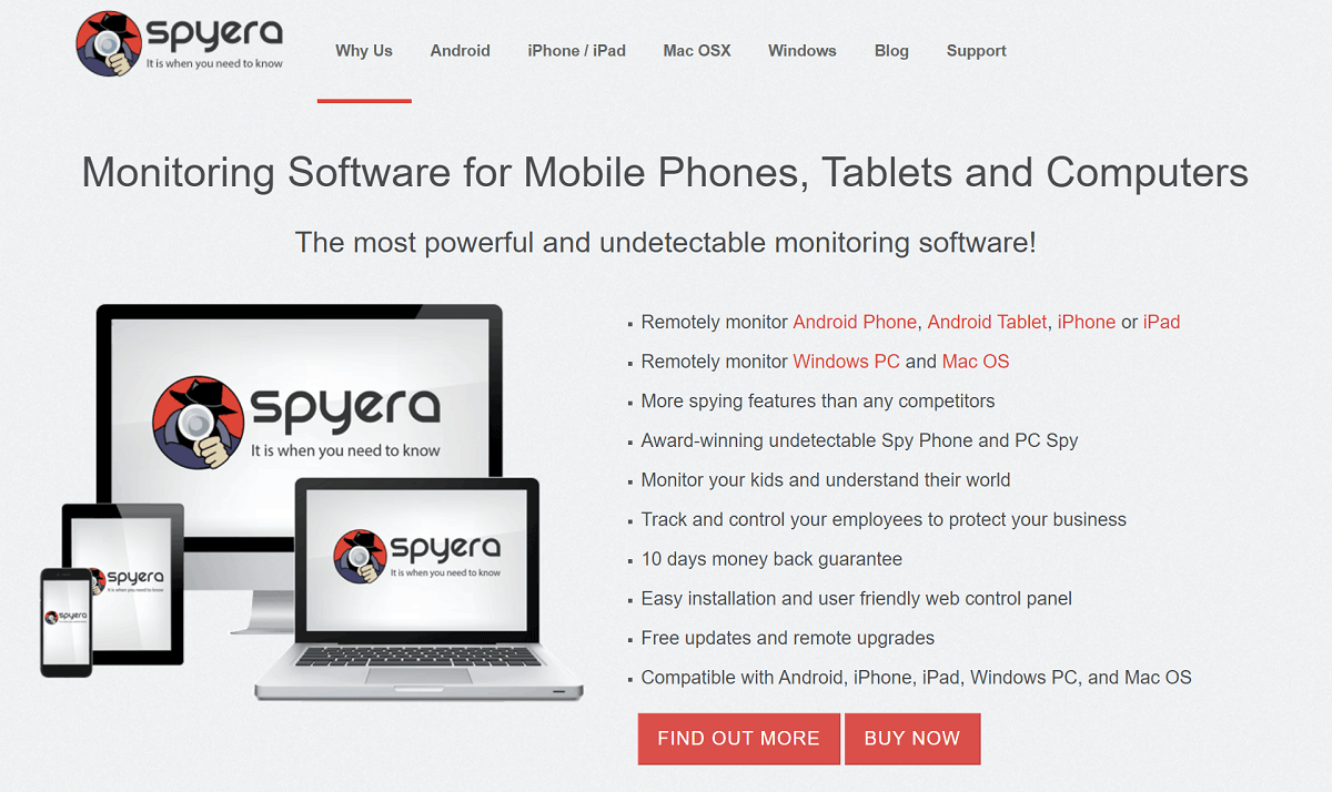 SpyEra Review: Monitoring Software for Mobile Phones